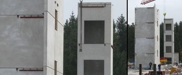 Treppenhäuser Bürogebäude Trianum, Planegg